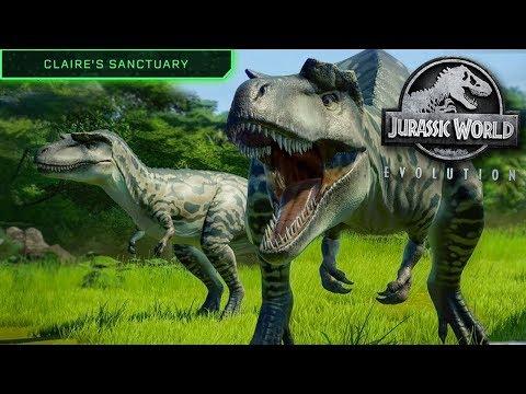 NEW Sanctuary Island DLC REVEALED!! - Jurassic World Evolution