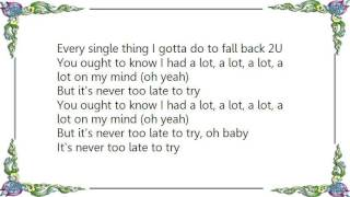 Chromeo - Fall Back 2U Lyrics