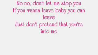 Kelly Clarkson - Don't let me stop you ( with lyrics)