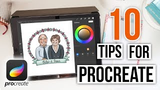 Using Procreate: 10 Tips For Beginners |  Procreate Tutorial