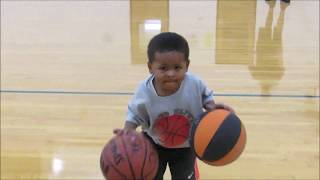 3 year old basketball player prodigy Carter Suchowesky