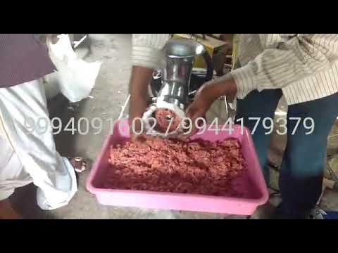 Chicken Keema Making Machine
