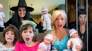 Elsa, Maleficent, Kate & Lilly Baby Doll Collection!!