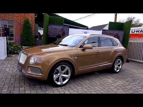 2016 Bentley Bentayga SUV Tech & Design REVIEW