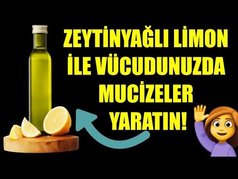 Zeytinyağlı Limon İle Vücudunuzda Mucizeler Yaratın
