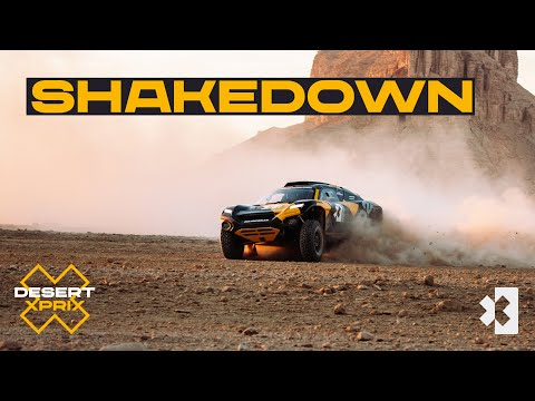 エクストリームE 2021 第1戦 サウジアラビア シェイクダウンのライブ配信動画
