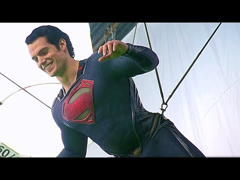 Stunts & VFX Superman vs Zod 'Man of Steel' Featurette [+Subtitles]
