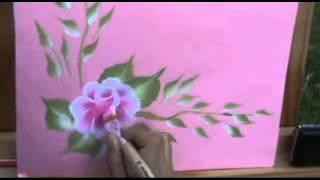 Dibujos para pintar flores ya no necesitas con pintura decorativa de pinceladas