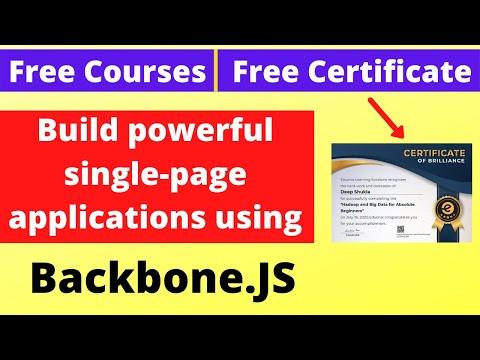 Free Course Certificate Backbone.JS Angularjs Professional ...
