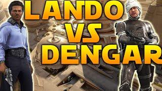 LANDO VS DENGAR - WHO'S BEST? - Star Wars Battlefront Bespin Gameplay