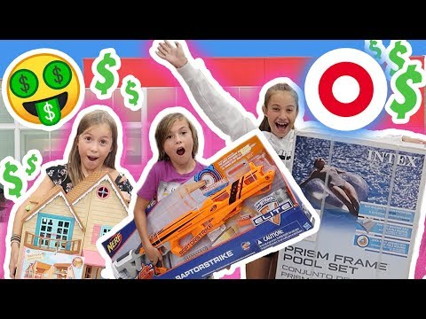 Buying the MOST EXPENSIVE ITEM in EVERY AISLE at Target! Its R Life (видео)