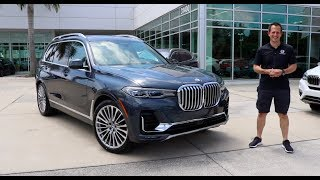 Does the 2019 BMW X7 prove BIGGER is BETTER in an SUV?