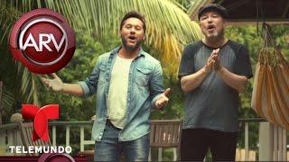 Diego Torres y Rubén Blades graban el tema Hoy es Domingo   Al Rojo Vivo   Telemundo