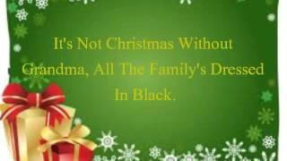 Elmo And Patsy Grandma Got Run Over By A Reindeer Lyrics
