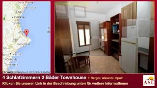 preview picture of video '4 Schlafzimmern 2 Bäder Townhouse zu verkaufen in El Verger, Alicante, Spain'