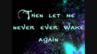 Evanescence -- Before The Dawn [LYRICS]