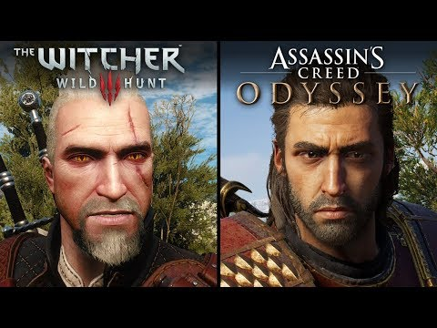 Assassin's Creed: Odyssey vs The Witcher 3: Wild Hunt | Direct Comparison