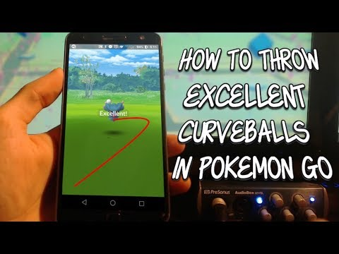 HOW TO THROW AN EXCELLENT CURVEBALL IN POKEMON GO UPDATED METHOD