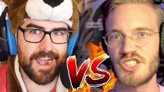 ROAST BATTLE PEWDIEPIE VS CINNAMONTOASTKEN | Oh Sir! Insult Simulator