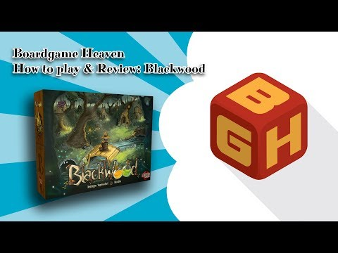 Boardgame Heaven How To Play & Review: Blackwood