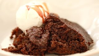 Gingerbread Pudding Cake Made in a Crock Pot - Gemma