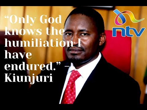 Mwangi Kiunjuri's statement after being fired by President Uhuru || Cabinet Reshuffle