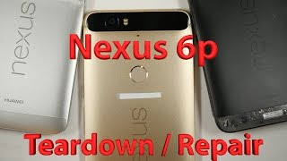 Huawei Nexus 6p False Advertising - Teardown - Repair Video