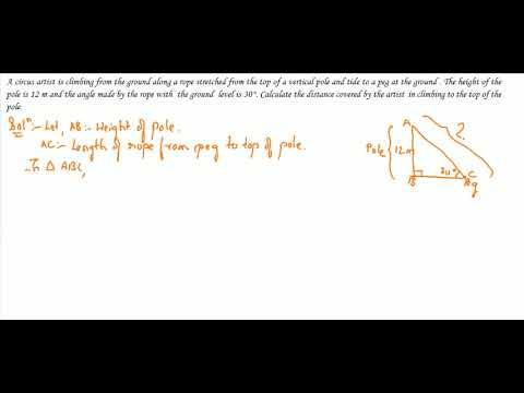 Trigonometry Part 56 : Class 10