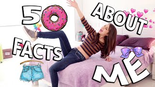 50 FACTS ABOUT ME   CAELI