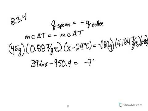 8 2: Calorimetry (Problems) - Chemistry LibreTexts