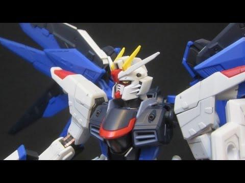 RG Freedom Gundam (Part 1: Unbox) Gundam Seed gunpla model review