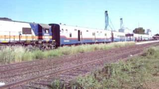 preview picture of video 'GT22 9075 saliendo de Bragado.'