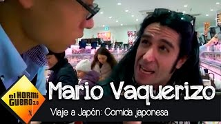 Mario Vaquerizo y la comida japonesa en El Hormiguero 3.0