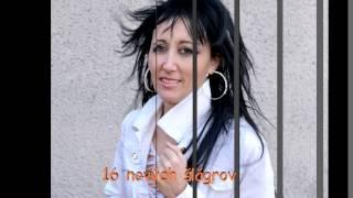 Jarmila Jančichová - speváčka šlágrových piesní
