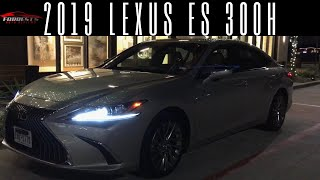 FWD JAPANESE LUXURY---2019 Lexus ES 300H Review!