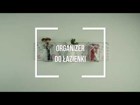 Oryginalny organizer do łazienki - zrób to sam - zdjęcie