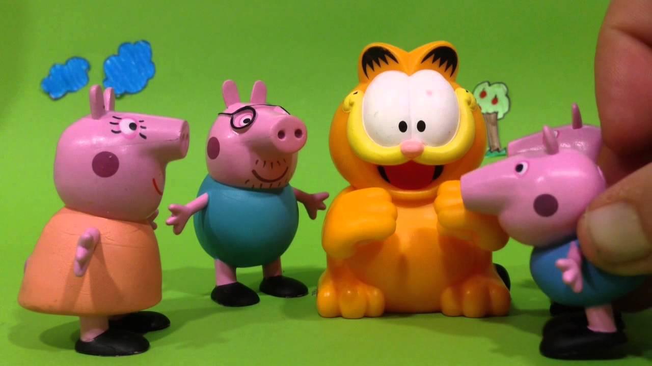 Peppa Pig y las bromas de Garfield