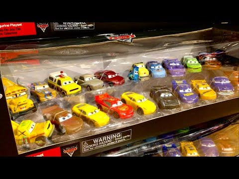 Cars 3 Toys Hunt - Disney Store Black Friday Toy Hunting - Disney Cars 3 Mega Figurine Playset