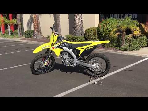 2017 Suzuki RM-Z250 in Murrieta, California