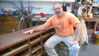 Restoring A Laminate Top On An MCM Dresser