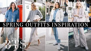 High Street Fashion Lookbook: Spring Outfit Inspiration  | BTS S10 Ep9