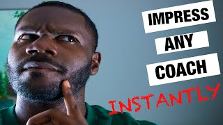 Impress any basketball coach | 3 quick tips that will help you impress your coach INSTANTLY!