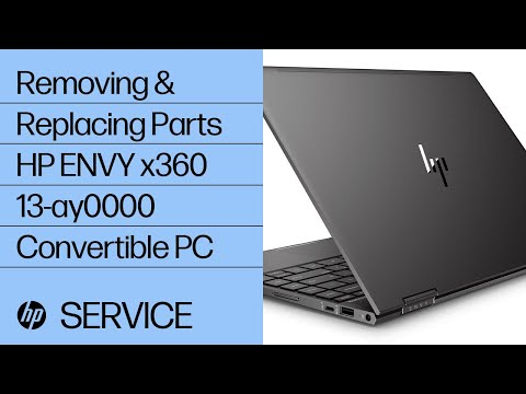 video huong dan thao laptop hp envy x360 13 ay0000 convertible pc