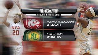 Full replay: New London at NFA girls' basketball