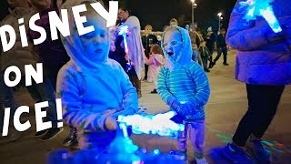 Busby Disney on ice Family Vlog