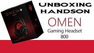 HP Omen Gaming Headset 800 Unboxing