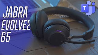 Jabra Evolve2 65 Review: Best Headset for Microsoft Teams!