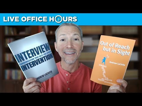 Career Advice and Ask Me Anything: Live Office Hours with Andrew LaCivita