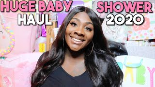HUGE BABY SHOWER HAUL 2020 | BABY GIRL| PART 1