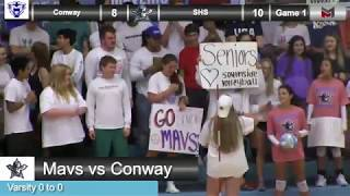 Volleyball vs. Conway 8-30-18